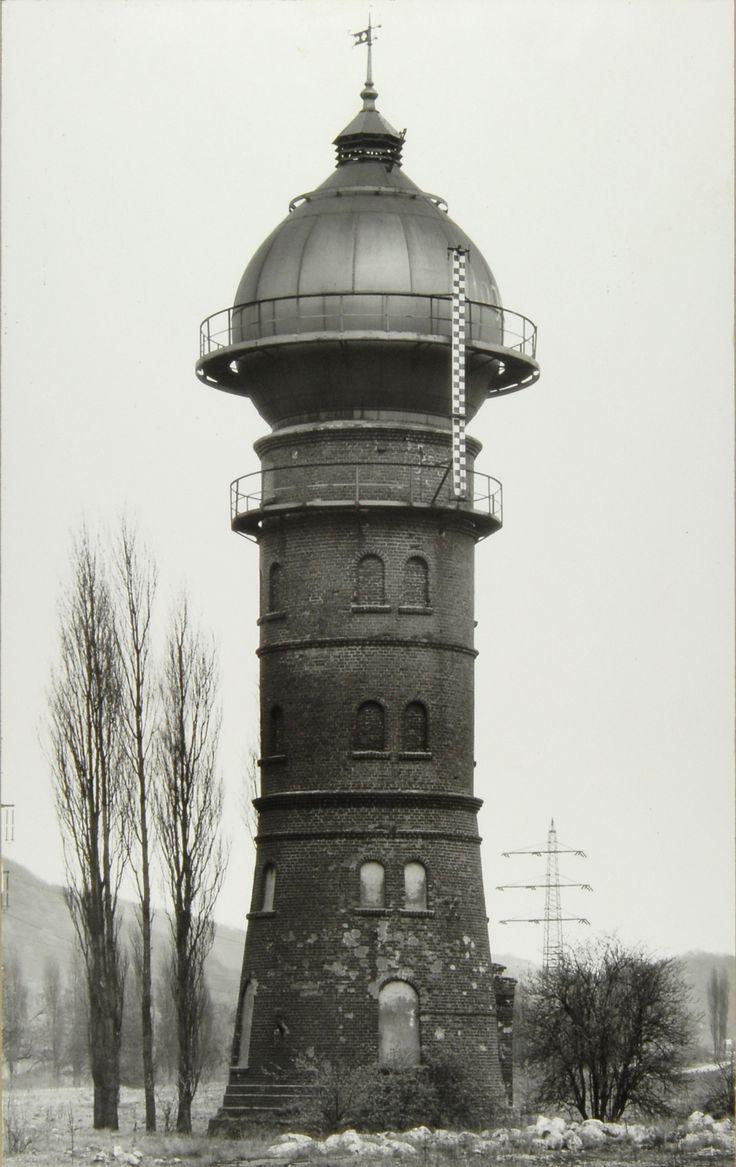 Bernd and Hilla Becher: Wassertürme (Water Towers), railway territory Hagen-Hengstey, Germany, 1913