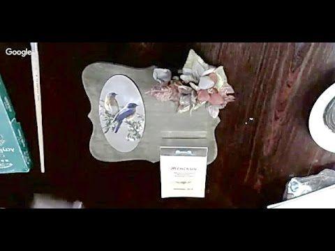 Декупаж ✿ Панно из фанеры ✿ Техника морения  ✿  МК Марии Драчевой
