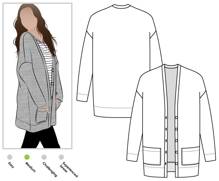 Womens Vest Pattern Free Sewing Gallery - origami instructions easy ...