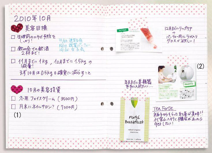 美活をサポートしてくれる女子力UPノート:日経ウーマンオンライン