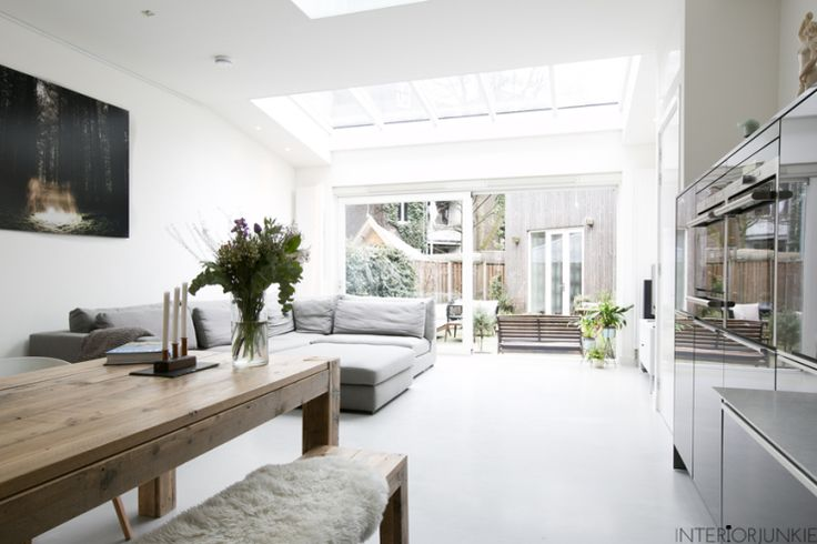 One of the biggest interior blogs in the Netherlands, came to have a coffee, a chat and of course take a few photos of our gorgeous interior here at the home of