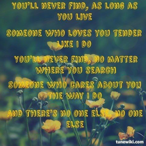 You will never find another love like mine michael buble