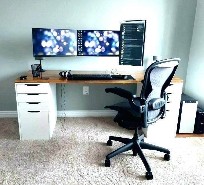 Contemporary Cool Desk Setups In 2020 Home Office Design Home