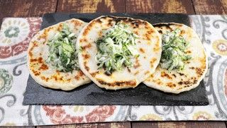 Skillet Naan Bread with Cucumber Relish Recipe | The Chew - ABC.com