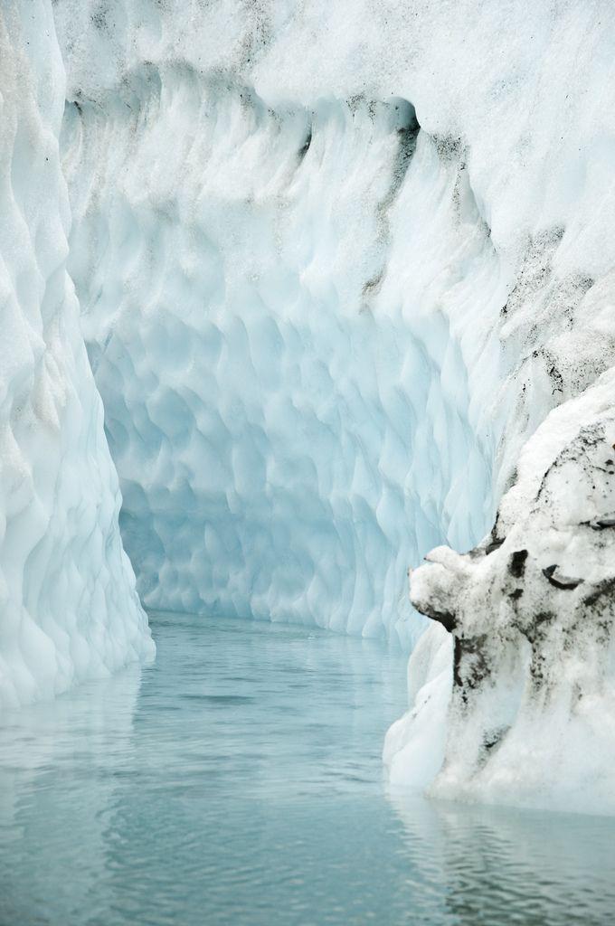 #ice #blue #glacier #white