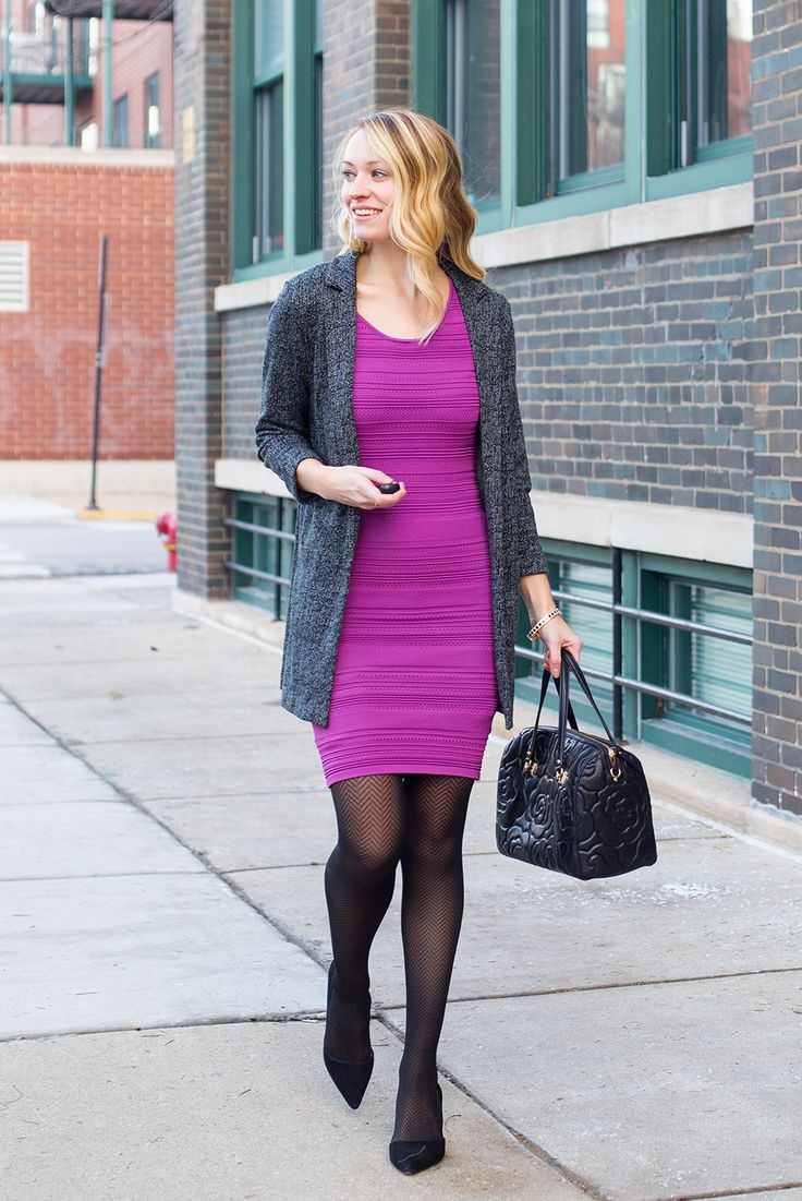 dress – The Limited (similar) blazer cardigan – H&M (similar light gray, navy) tights – Hue pumps – Sole Society handbag – Kate Spade (similar) bangle – Kate Spade (current version) earrings – Charming Charlie (similar) ring – Gorjana My husband, whose twitter feed includes updates about various stocks and financial happenings, informed me of... View Article