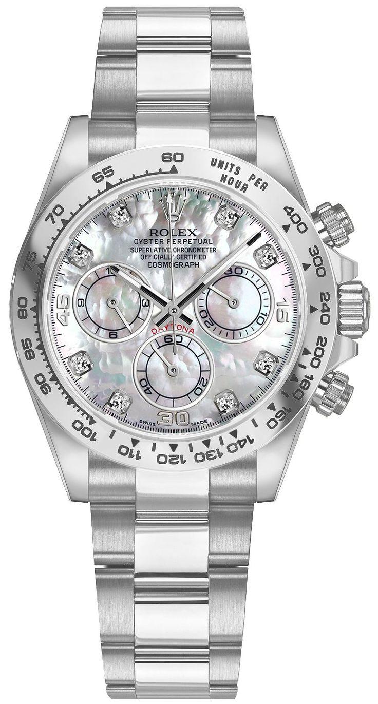 Rolex Cosmograph Daytona Mother of Pearl Dial Men's Watch 116509