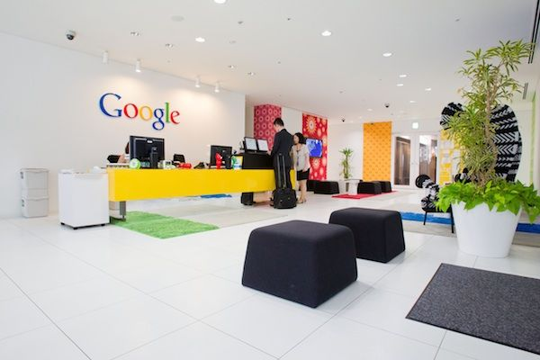 google tokyo office. Google Japan Reception Tokyo Office