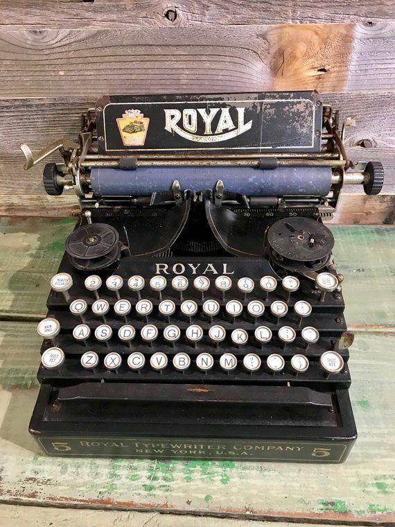 royal manual typewriter serial number