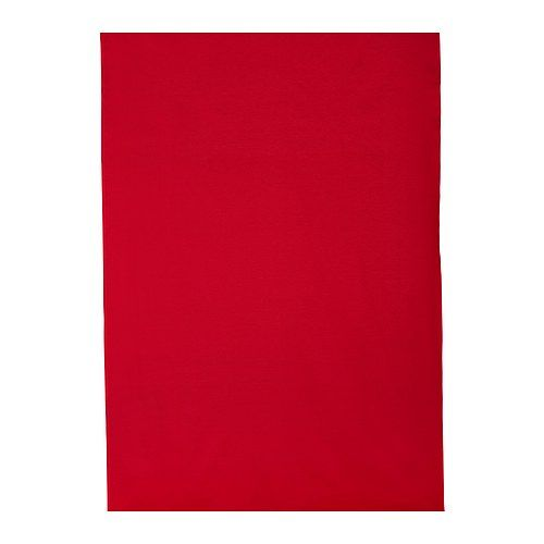 Also a solid color option  DITTE Fabric, bright red