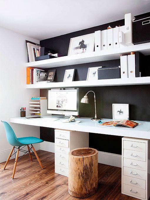 Zona de trabajo en casa: espacio para dos
