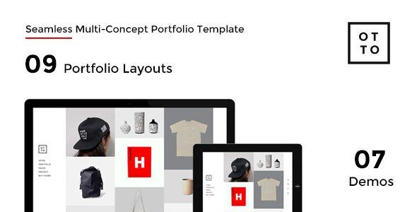 OTTO - Seamless Multi-Concept Portfolio Template