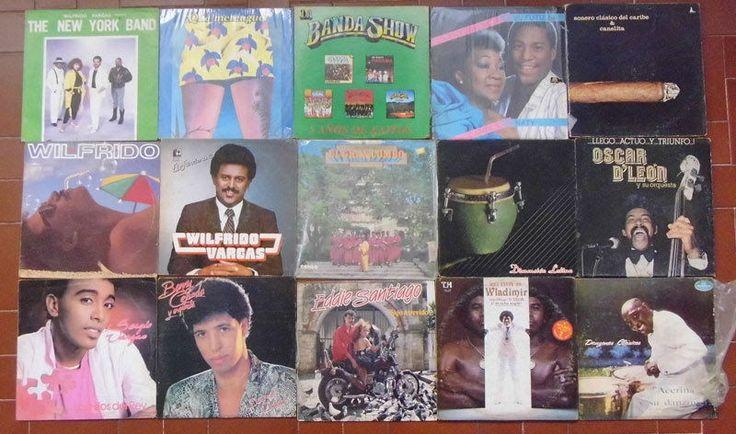15 LP Lot Latin Salsa Merengue Danzon El Gran Combo, New York Band, Banda Show