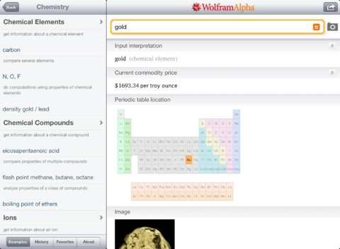 Wolframalpha app: computational knowledge engine  Great way to look at a patterns in math without having to do all the calculations