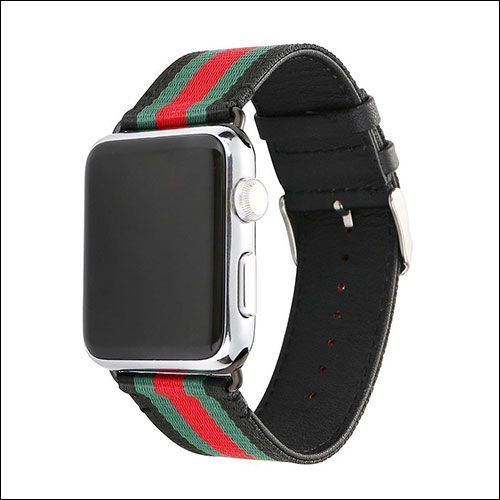 5e8e169bdd2 HUANLONG Apple Watch Nylon Band Gucci Apple Watch Band
