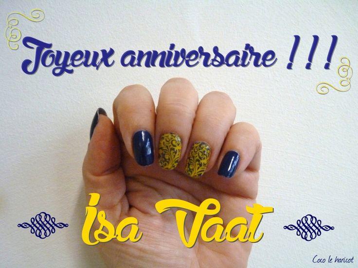 Un anniversaire improbable pour Isa Vvat !