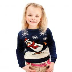 Prześliczny #pingwinek będzie cudownym towarzyszem zabaw dla Twojego dziecka. http://swetryswiateczne.pl/pl/