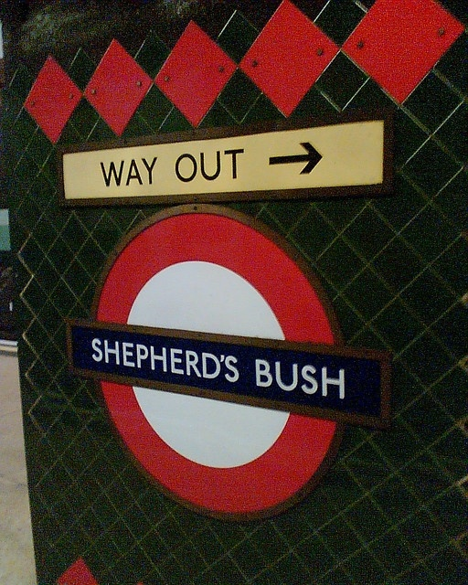 Shepherd's Bush Tube Station