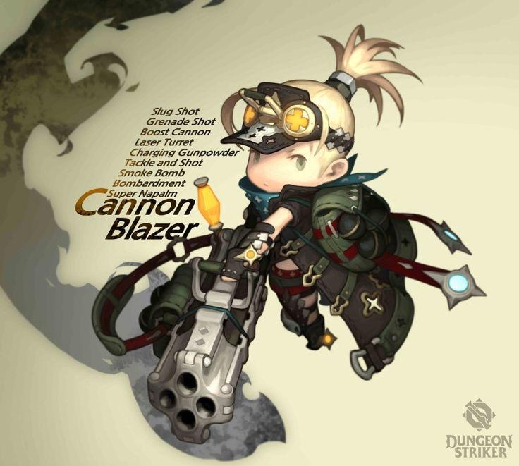 Dungeon Striker open certain placement: Naver blog