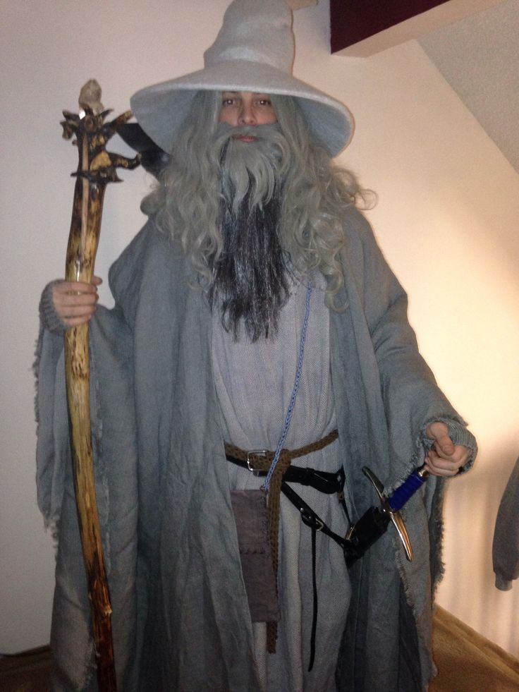 My completed gandalf costume | Gandalf costume references ...