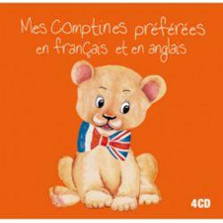 Mes comptines préférées en français et en anglais. CD de comptines en anglais et français