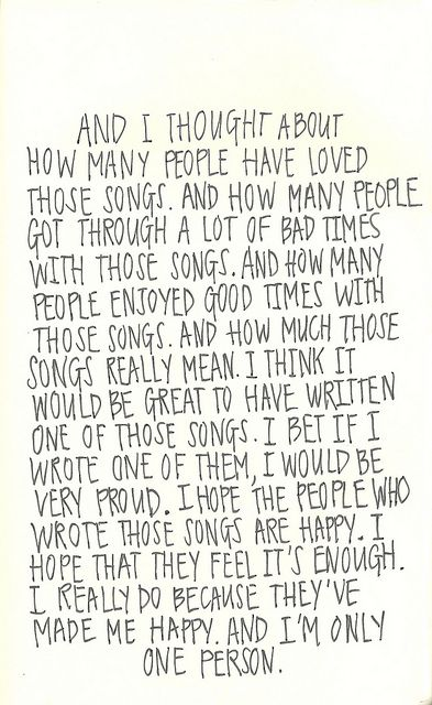 The Perks of Being a Wallflower. My favorite movie.