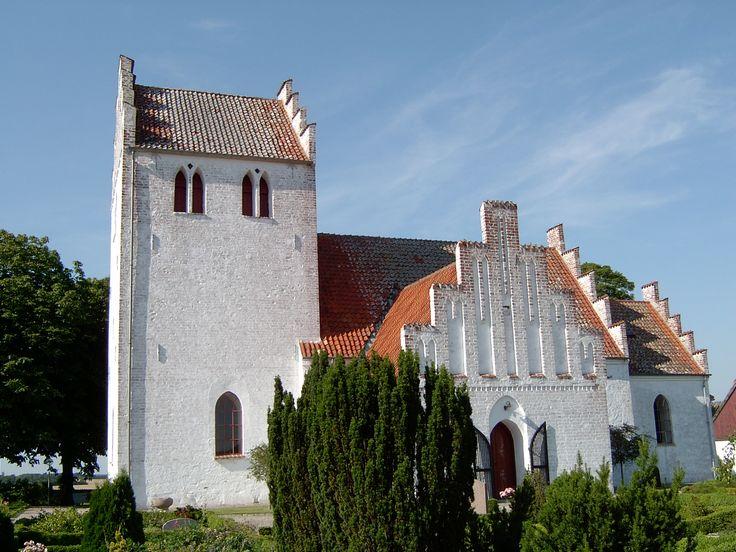 Alsted Church, Alsted kirke, Alsted, Denmark. Photo: Kurt Thorleif Jensen.