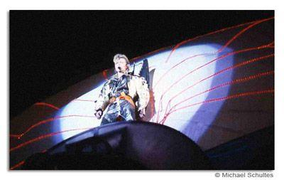 David Bowie live am Nürburgring