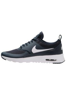 AIR MAX THEA - Matalavartiset tennarit - obsidian/white