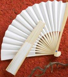 Papierfächer aus Holz - 19,7 cm