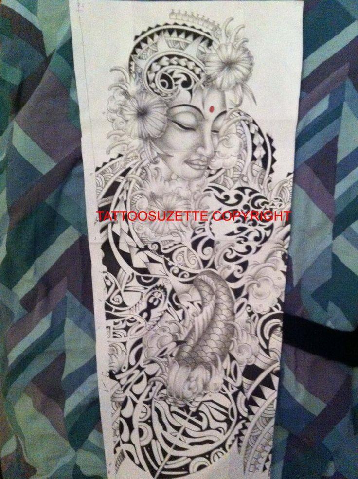 26 best Maori Tattoo Design Drawing Sleeve images on ...  26 best Maori T...