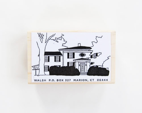 maybe putting the cart before the horse... but these stamps make me want a home