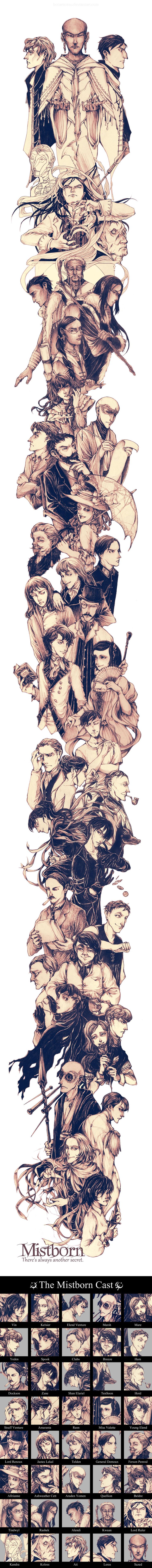 Conjunto de personajes