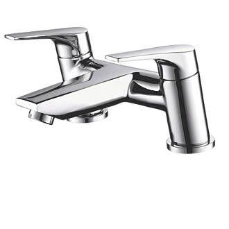 Bristan Easyfit Vantage Dual Lever Bath Filler Tap | Bath Taps | Screwfix.com