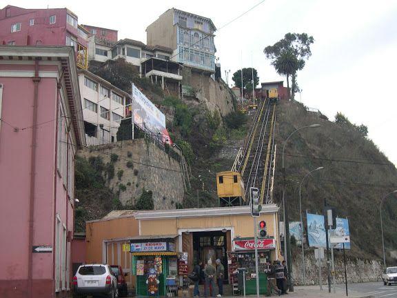 funicular artilleria, fotos desde calle errazuriz - Buscar con Google