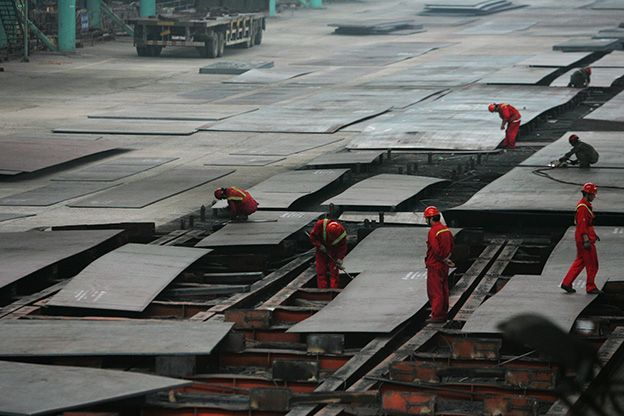 Chinese Steelmakers See A Light At The End Of Restructuring Steel Companies Light Chinese