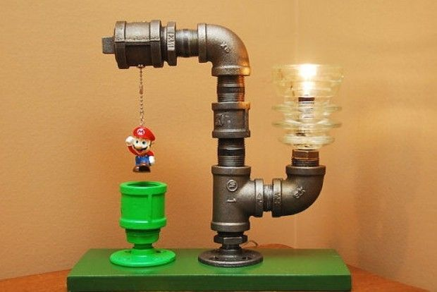 I tubi dell'idraulico si accendono: la lampada di Supermario Bros - Repubblica.it