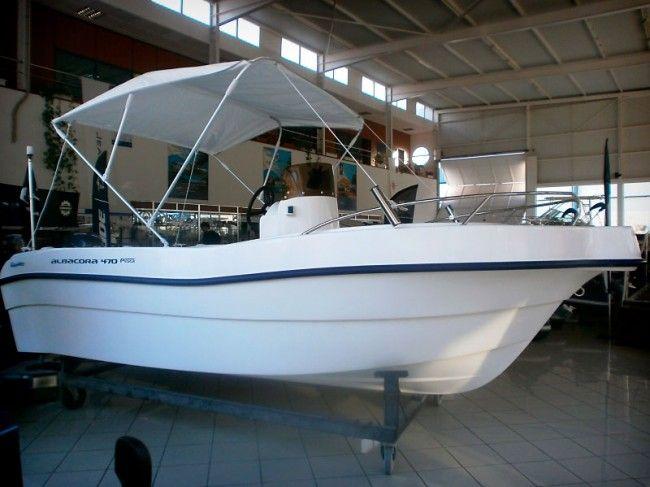 Nueva embarcación ideal para la práctica de la pesca deportiva. Con motor Yamaha 50 HP. http://www.nauticaydeportes.com/barcos/atlantico-albacora-470-pesca #barco en #Tenerife para #pesca