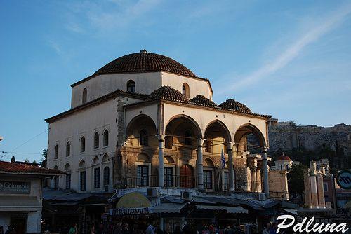 La moschea di Monastiraki