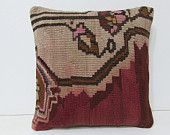 decorative pillow furniture pillow kilim pillow contemporary pillow throw pillowcase unusual cushion decorative pillow case red pillow 28114