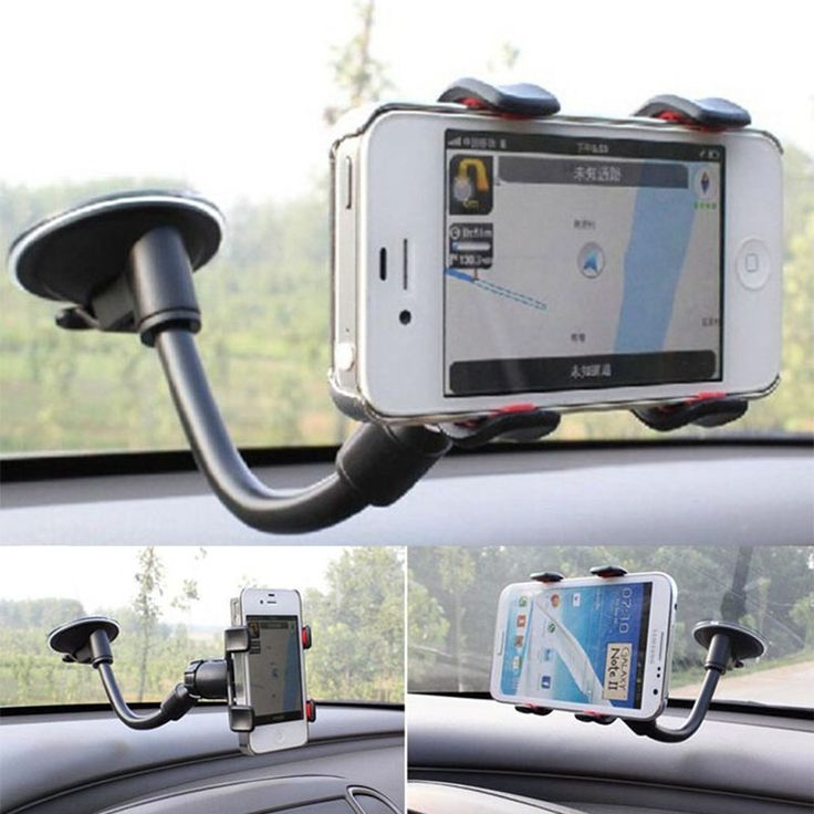 """Universal Car Phone Holder For 3.5"""" ~ 7.9"""" Car Windshield Cell Mobile Phone For iPhone Samsung Galaxy PDA Navigate GPS"""