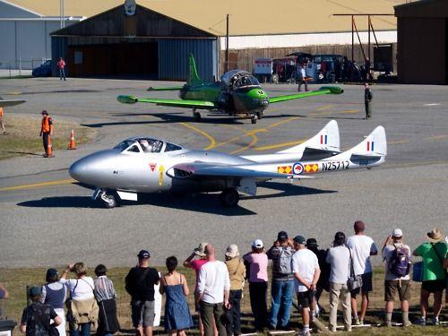 Vampire at Warbirds Over Wanaka 2012  Type: F+W Emmen Vampire T55 (DH-115)…