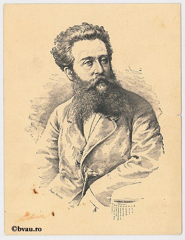 """L. Ratisbonne, Luxemburg. Imagine din colecțiile Bibliotecii """"V.A. Urechia"""" Galați."""