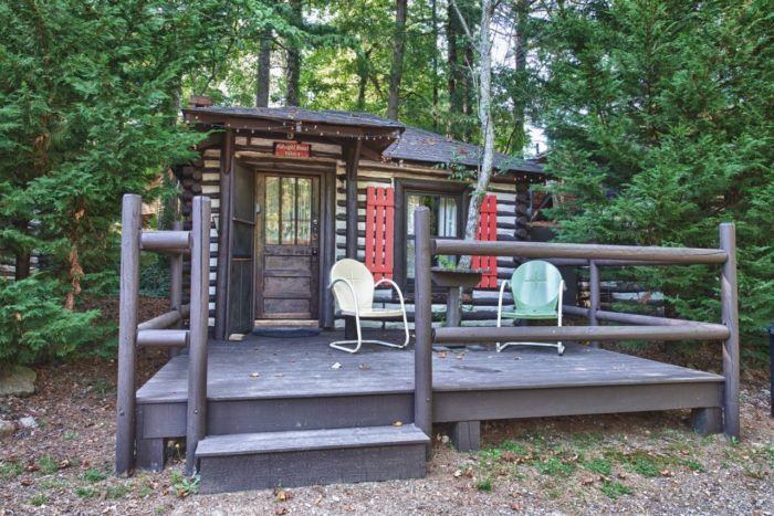 The Log Cabin Motor Court is conveniently located just eight miles from the beloved Biltmore Estate, and just far enough from everything to feel like your very own little mountain getaway.