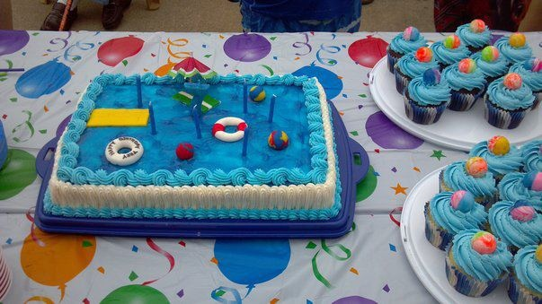 Pool Birthday Party.