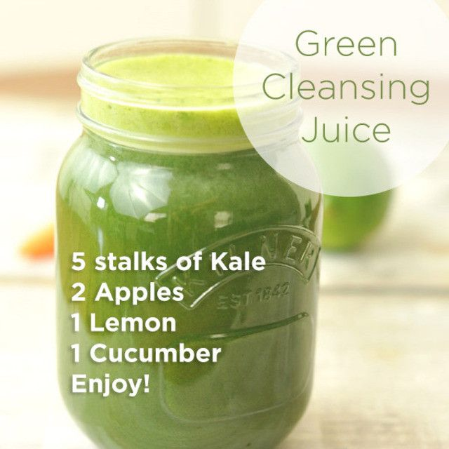 I'm on a 7 day cleanse right now, and just finished up my 3 day pre-cleanse. I found this on pinterest the other day and trie...