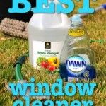 Simple Homemade Outdoor Window Cleaner Solution