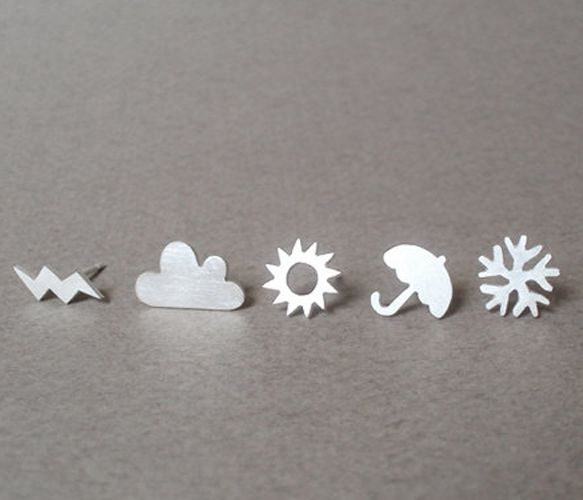 @Shannon Scully Weather Earrings Set.