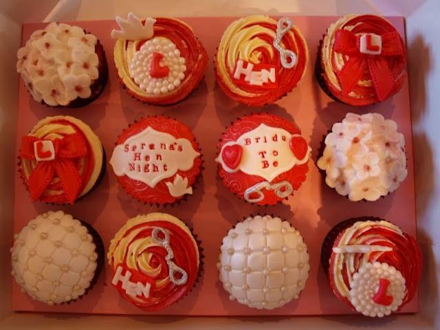 hen cupcakes