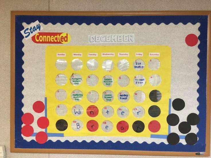 Calendar Bulletin Board Ideas Middle School : The best calendar bulletin boards ideas on pinterest